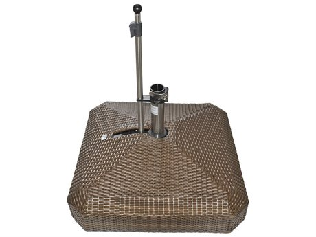 Oasis Rolling Bases 220lb Wicker Square Umbrella Base