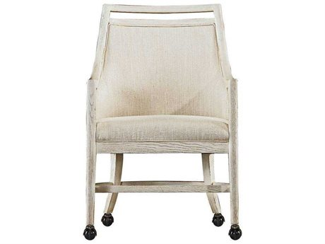 Stanley Furniture Coastal Living Resort Nautical White Dock Hideaway Club Chair (OPEN BOX)