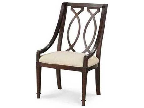 A.R.T. Furniture Intrigue Wood Back Dining Arm Chair (Sold in 2) (OPEN BOX)