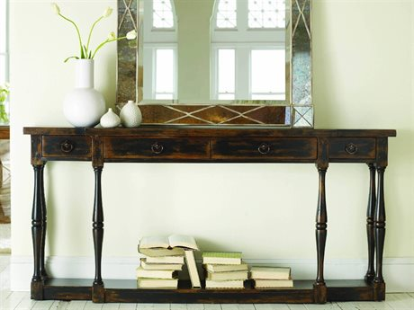 Hooker Furniture Sanctuary Ebony 72''L x 12''W Rectangular Console Table (OPEN BOX)