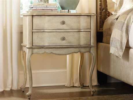 Hooker Furniture Sanctuary Pearl Essence 28''W x 18''D Rectangular Nightstand (OPEN BOX)