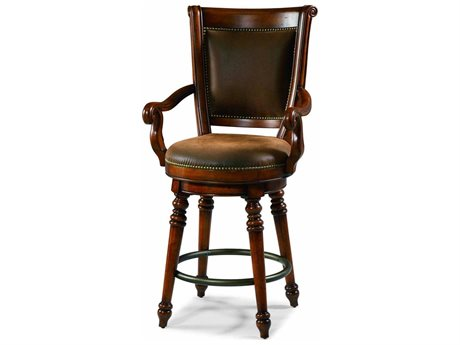 Hooker Furniture Waverly Place Distressed Antique Cherry Bar Stool (OPEN BOX)