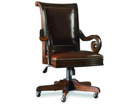 Hooker Furniture European Renaissance II Dark Rich Brown Executive Swivel Chair (OPEN BOX)