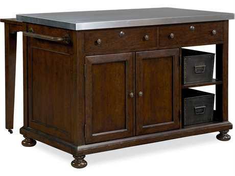 Paula Deen Home River Bank 60'' x 45'' Rectangular Kitchen Island (OPEN BOX)