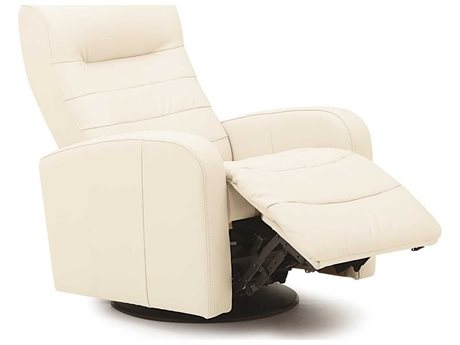 Palliser Riding Mountain II Ambient Cream Swivel Glider Powered Recliner Chair (OPEN BOX)