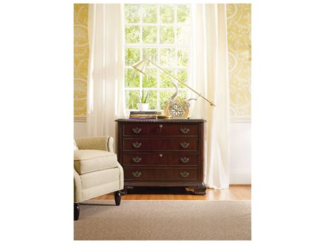 Hooker Furniture Dark Wood Lateral File Cabinet (OPEN BOX)