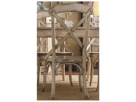 Hooker Furniture Wakefield X Back Taupe Dining Side Chair (OPEN BOX)