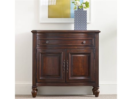 Hooker Furniture Cherry 36.5''L x 12.25''W Hall Console Table (OPEN BOX)