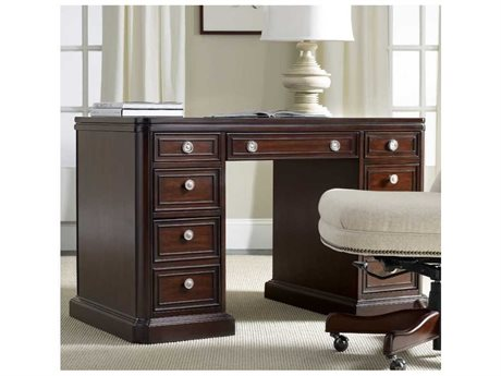 Hooker Furniture Dark Wood 48''L x 26''W Rectangular Writing Desk (OPEN BOX)