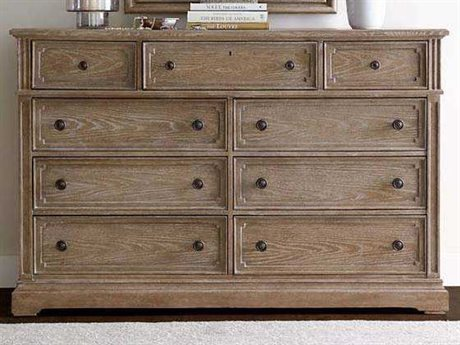 Stanley Furniture Wethersfield Estate Brimfield Oak Double Dresser (OPEN BOX)