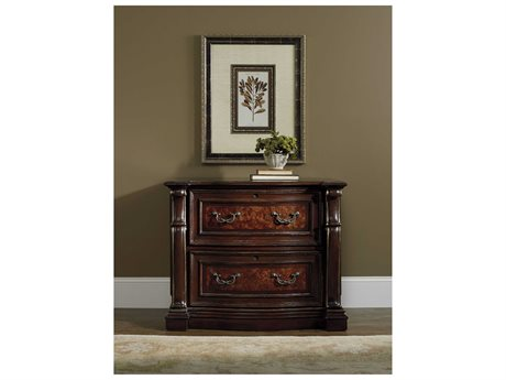 Hooker Furniture Grand Palais Dark Wood Lateral File Cabinet (OPEN BOX)