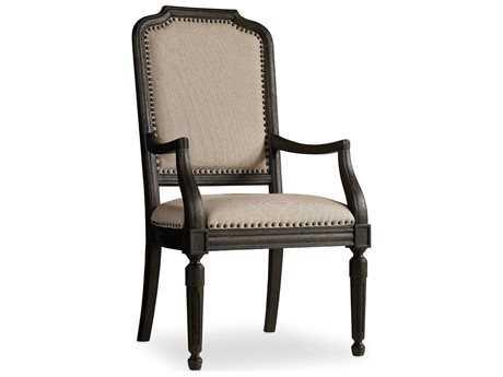 Hooker Furniture Corsica Dark Wood Dining Arm Chair (OPEN BOX)