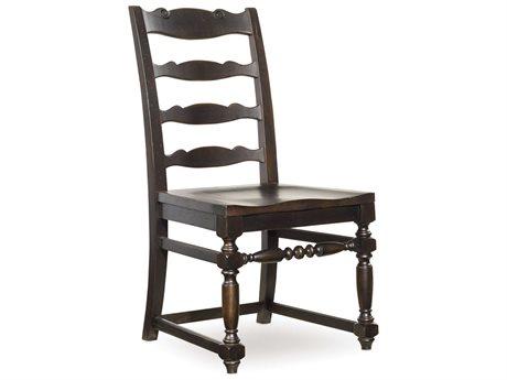 Hooker Furniture Treviso Ladderback Dark Macchiato Dining Side Chair (OPEN BOX)