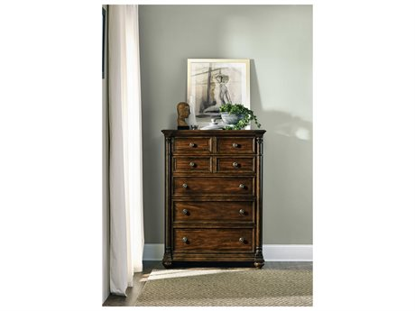 Hooker Furniture Leesburg Rich Traditional Mahogany 42''W x 20''D Rectangular Chest of Drawers (OPEN BOX)