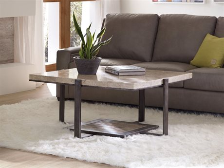 Hooker Furniture Gray 42'' Wide Square Cocktail Table (OPEN BOX)