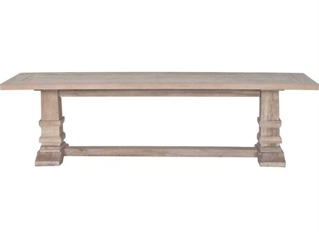 Orient Express Furniture Hudson Stone Wash Dining Bench (OPEN BOX)