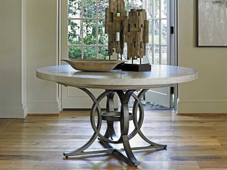 Lexington Oyster Bay 58'' Round Calerton Dining Table (OPEN BOX)