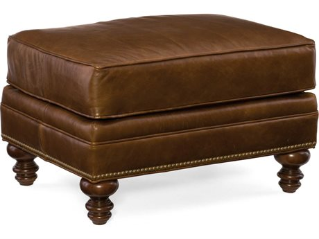 Bradington Young Aaron Eldoro Summit with Mahogany Ottoman (OPEN BOX)
