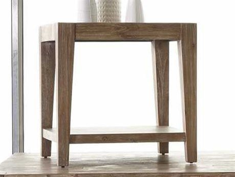 Casana Tyler Weathered Acacia 24'' Square End Table (OPEN BOX)