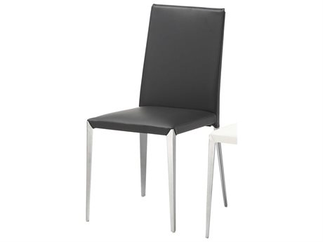 Bellini Black Dining Chair (Sold in 2) (OPEN BOX)