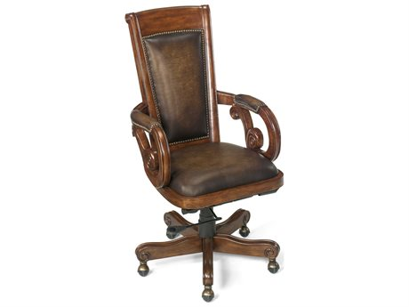 Hooker Furniture Derby Randwick Medium Wood Executive Swivel Chair (OPEN BOX)