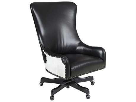 Hooker Furniture Nouveau Dark Wood Executive Swivel Tilt Chair (OPEN BOX)