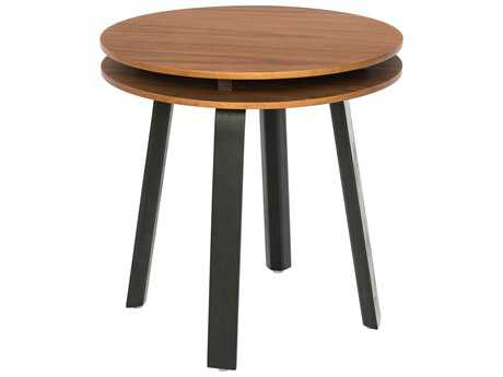 Osidea Hi Low 18'' Round Side Table