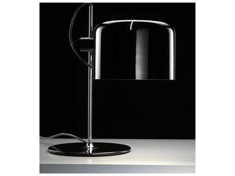 Oluce Coupe White Table Lamp