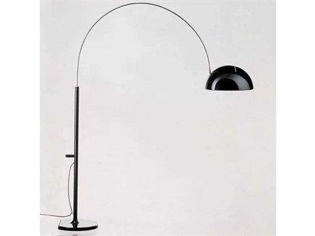 Oluce Coupe Black Floor Lamp OE3320RBL