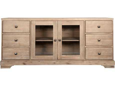 Orient Express Furniture Hudson Stone Wash Media Cabinet