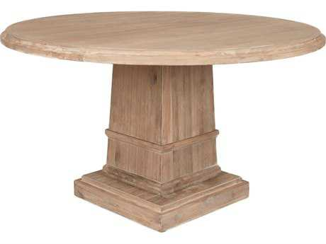 Orient Express Furniture Hudson 60''L x 60''W Stone Wash Dining Table