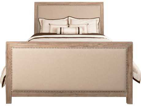 Orient Express Eden Stone Wash Finish Upholstered Queen Panel Bed