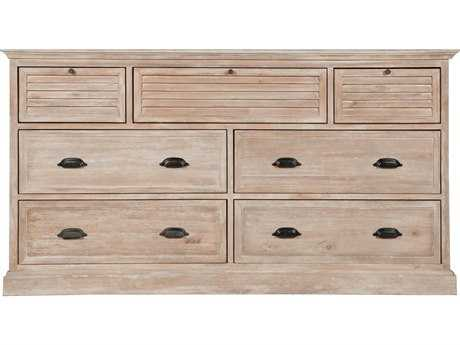 Orient Express Furniture Eden Stone Wash Seven Drawer Media Dresser