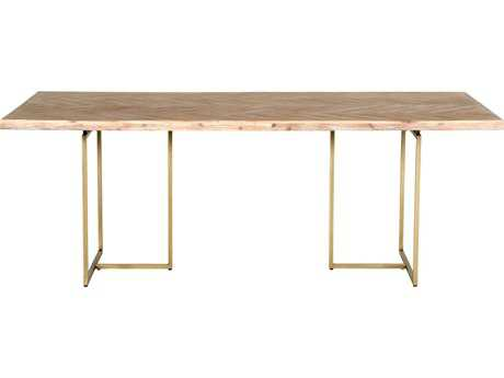 Orient Express Furniture Mosaic 86.5''L x 39.5''W Stone Wash Dining Table