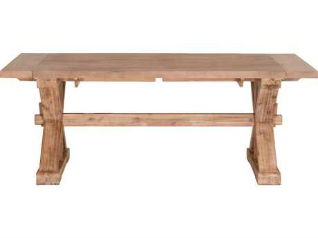 Orient Express Mason 79''L x 39.5''W Stone Wash Extension Dining Table