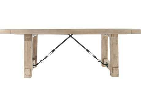 Orient Express Furniture Carter 84.5''L x 42''W Stone Wash Extension Dining Table