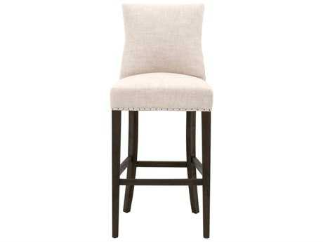 Orient Furniture Express Essentials Lourdes Bisque French and Rustic Java Side Bar Stool