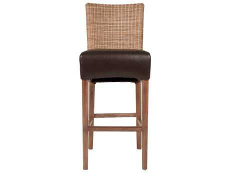 Orient Express Furniture Hampton Havana Bonded Leather Barstool