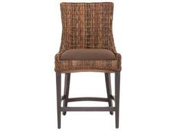 Orient Express Furniture Wicker Loom Sand Rope Club Chair