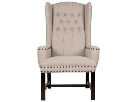 Orient Express Furniture Villa Brook Birch Fabric Arm Chair