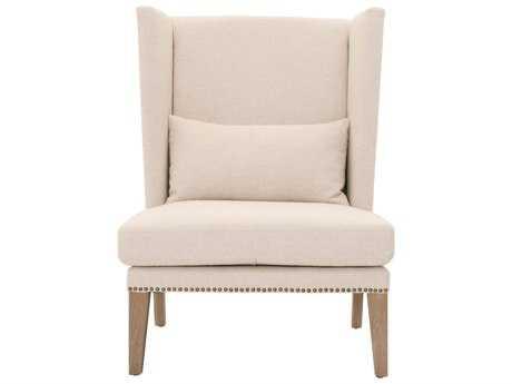 Orient Express Furniture Mercer Jute Fabric Club Chair