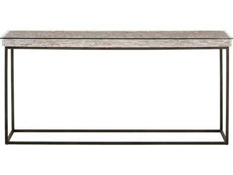 Orient Express Furniture Field Gray Pine Console Table