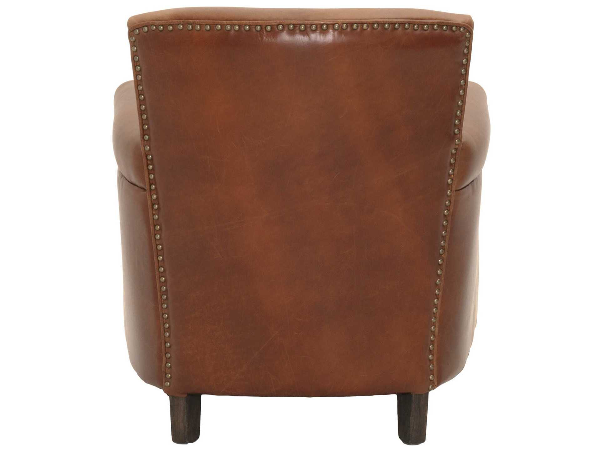 Orient Express Furniture Patina Marshall Chestnut Club Chair OEF8210CHNTANTC