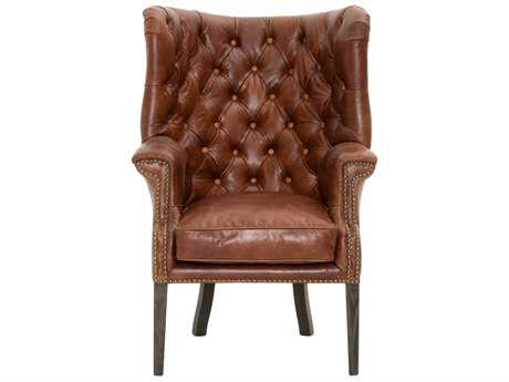 Orient Express Furniture Patina Hughes Chestnut Club Chair
