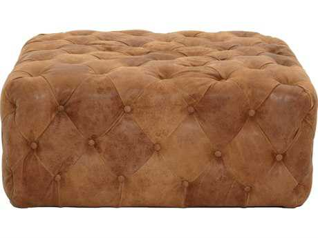 Orient Express Furniture Patina Brandy Chestnut Ottoman