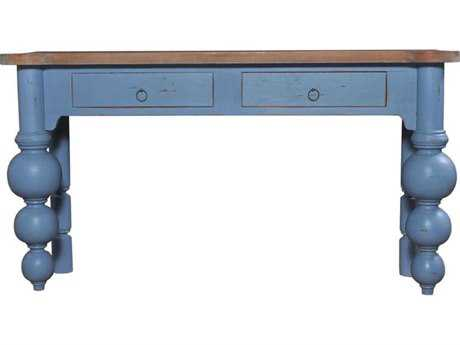 Orient Express Boules Antique French Oak Chinossere Sofa Table