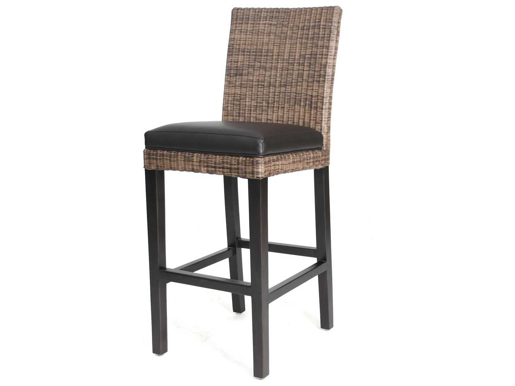 Orient Express Furniture Verona Wicker Counter Stool