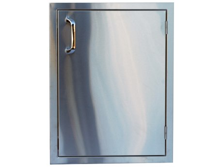 Outdoor Greatroom Stainless Steel Vertical Single Access Door