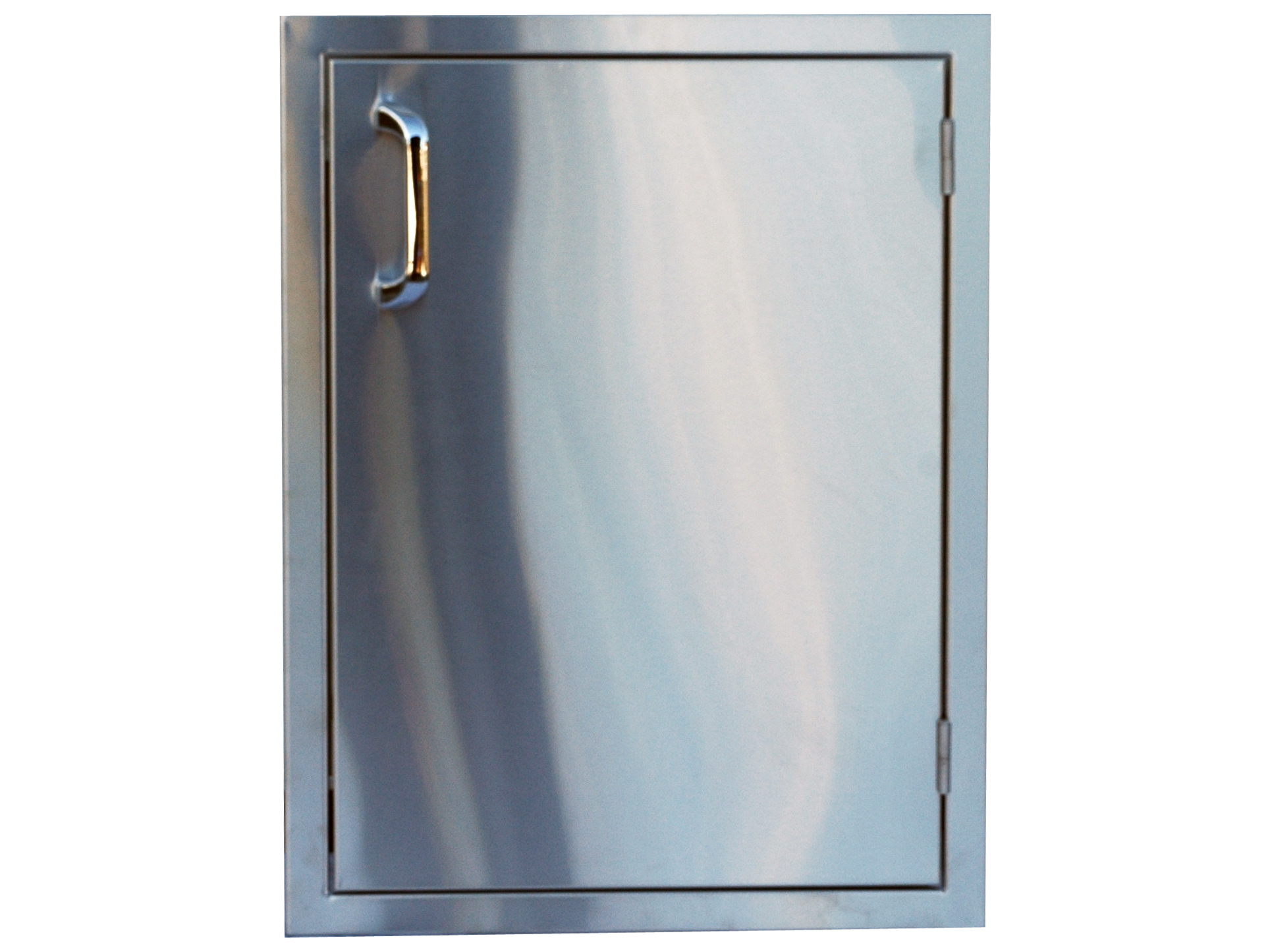 Access Door For Metal Doors : Outdoor greatroom stainless steel vertical single access