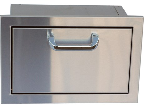 Outdoor Greatroom Stainless Steel Single Drawer Storage